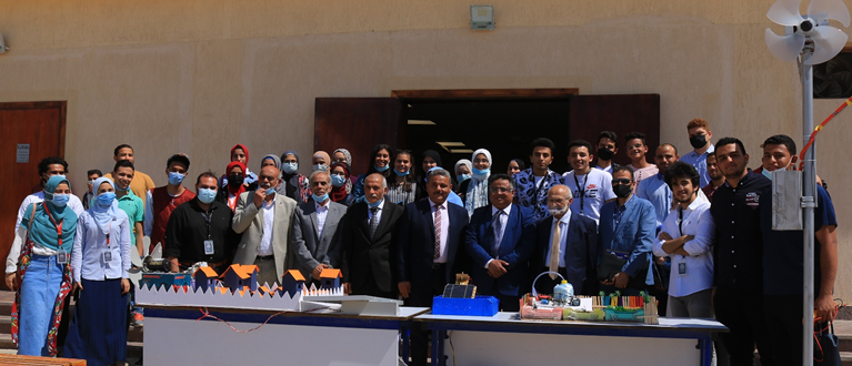 The Faculty of Engineering, Al-Nahda University, organizes the first scientific conference for the Department of Electrical and Renewable Energy Engineering